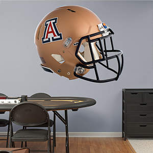 Arizona Wildcats Copper Helmet Fathead Wall Decal
